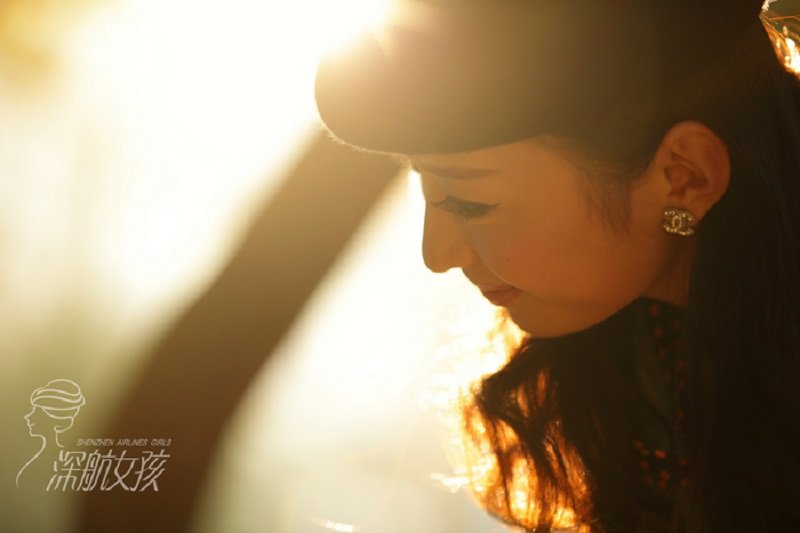 Photo: Shenzhen Airlines Girl