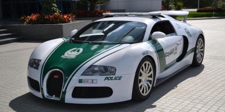 Dubai Police – Bugatti Veyron $4 Million—Photo via digitaltrends.com
