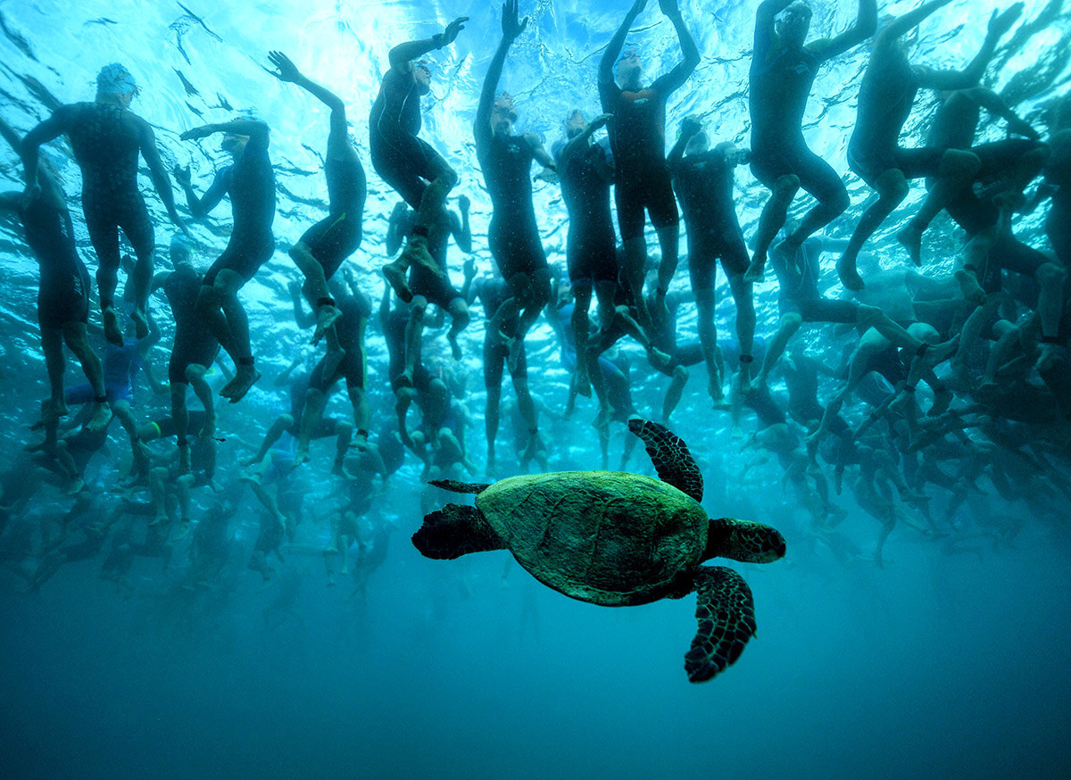 World Championship triathlon di Kailua Kona. - Handout / Getty Images