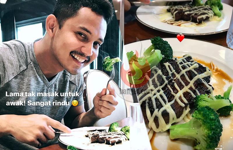 Istimewa Untuk Suami Haniz Zalikha Kongsi Resipi Grilled Beef Steak